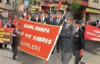 Gaziler Urfa'da buluştu