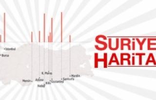 Suriyeliler en çok nerede yaşıyor?