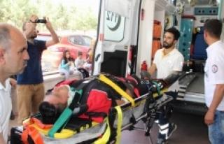 Urfa'da polis ekipleri kaza yaptı!