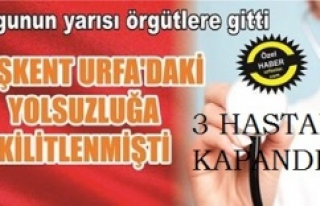 URFA'DA T.C TİCARETi VURGUNU
