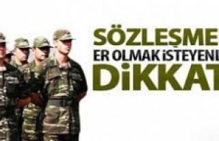 Urfa Tugay Komutanlığı ilana çıktı