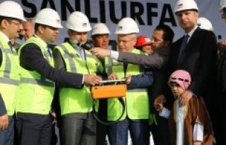 Urfa'ya büyük bir proje daha...