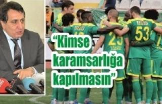 Vali Küçük'ten flaş Urfaspor açıklaması…