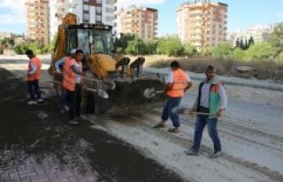 Karaköprü'de çalışmalar aralıksız sürüyor