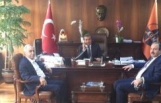 Özcan ve Fakıbaba, Urfa için destek istedi