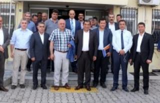 Taşan'dan Başkan Atilla'ya ziyaret