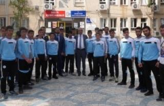 Türkiye şampiyonasına uğurlandılar