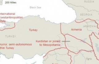 Türkiye'yi böyle böldüler