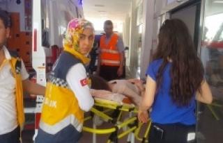 Urfa'da genç kız intihara kalkıştı