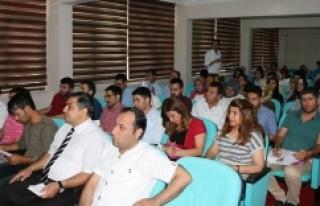 70 Kişi Urfa'da göreve başladı
