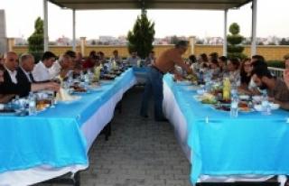Ayhan, yargı mensupları onuruna iftar verdi