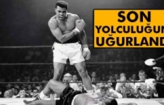 Muhammed Ali toprağa verildi