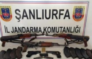 Silah kaçakçılığı operasyonu: 2 gözaltı