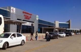 Urfa'da hava trafiği arttı