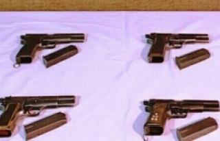 Urfa'da silah kaçakçılığı operasyonu