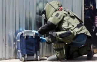 Urfa'da bomba paniği