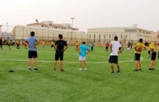 Urfa'da ücretsiz salon ve antrenman hizmeti