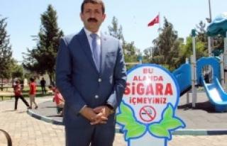 Urfa'daki parklarda flaş karar