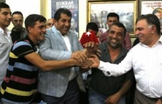 Ceylanpınar'da HDP'den Ak Parti'ye büyük...