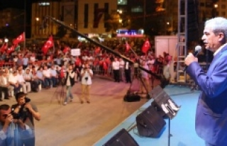 Demirkol: Bu meydanlarda Kürt yok, Arap yok, Türk...