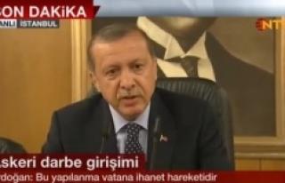 Erdoğan: Vatana ihanet hareketidir