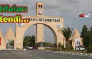 Harran Üniversitesinde şok gelişme...