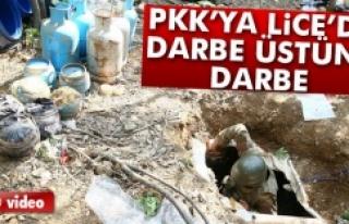 PKK'ya Lice'de darbe üstüne darbe