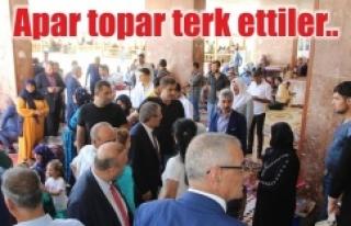 Urfa'da CHP heyetine soğuk duş!