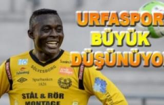 Urfaspor Nijeryalı futbolcuya göz dikti