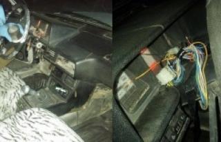 Araç çalan hırsızın üzerinden bakın ne çıktı!...
