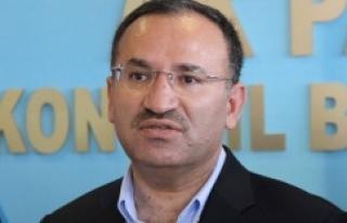 Bakan Bozdağ'dan en net tahliye açıklaması..