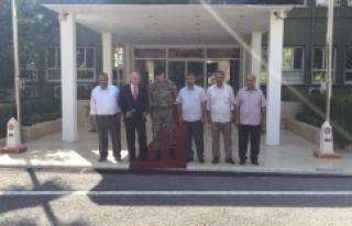 Başkan Altun'dan yeni komutana ziyaret