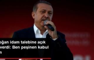 Erdoğan'dan milleti sevindiren idam açıklaması