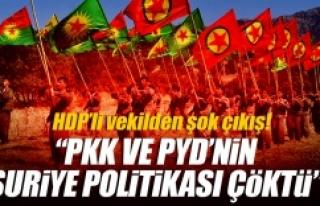 HDP'li Vekilden HDP'ye eleştiri...