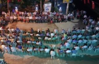 Hilvan'da Milli İrade ve Demokrasi nöbeti sürüyor