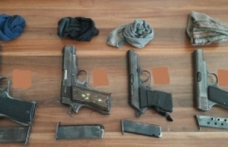 Jandarmadan silah kaçakçılarına operasyon