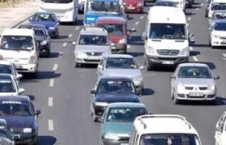 Urfa'nın araç sayısı açıklandı