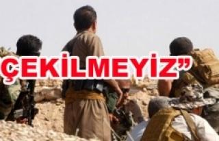 YPG'den şok açıklama...