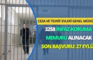 3 Bin 258 infaz koruma memuru alınacak