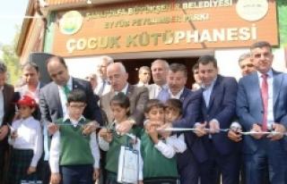Çocuk kütüphanesi hizmete açıldı