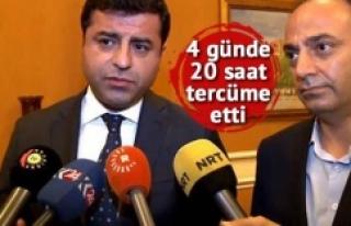 Demirtaş, 'Kürtçe bilmiyor' eleştirilerini...