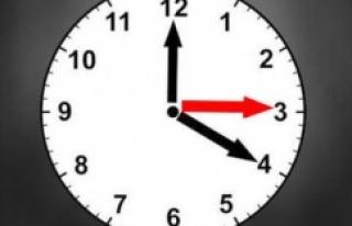 Saatler artık geri alınmayacak