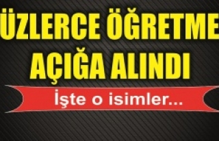 Urfa'da PKK'ya yakın öğretmenler açığa...