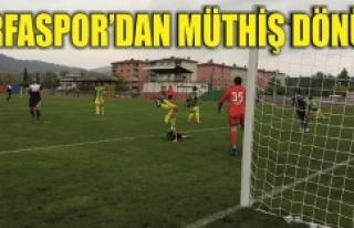 Urfaspor'a 2 dakika yetti