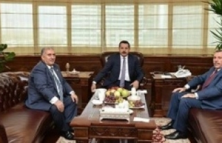 Akyürek, Viranşehir'in sorunlarını Bakan'a...
