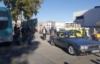 Urfa'da, bir anlık dalgınlık kaza getirdi