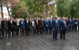 Hilvan'da, Cumhuriyet'in Kurucusu Ulu Önder...