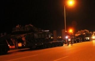 Tanklar Urfa üzerinden geçecek
