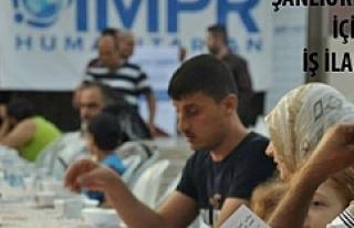 Barış Merkezi Urfa'dan personel alımı yapacak