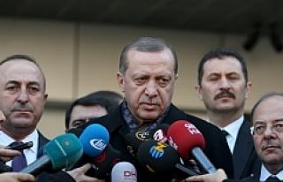 Cumhurbaşkanı Erdoğan'dan çok sert açıklamalar...